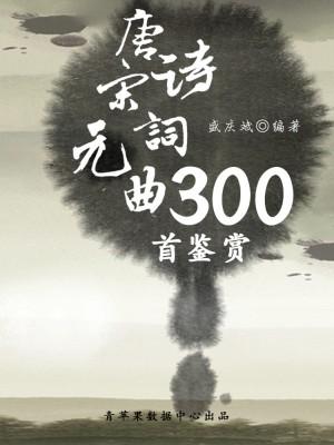 唐诗宋词元曲300首鉴赏(中华古文化经典丛书) by 盛庆斌 from Green Apple Data Center in Comics category