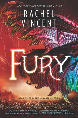 Fury by Rachel Vincent from HarperCollins Publishers Australia Pty Ltd in Romance category