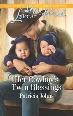 Her Cowboy's Twin Blessings by Patricia Johns from HarperCollins Publishers Australia Pty Ltd in General Novel category