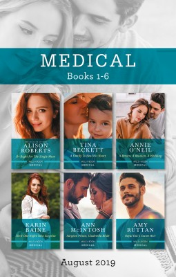 Dr Right for the Single Mum/A Family to Heal His Heart/A Return, a Reunion, a Wedding/Their One-Night Twin Surprise/Surgeon Prince, Cinder by Ann McIntosh from HarperCollins Publishers Australia Pty Ltd in Family & Health category
