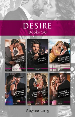 Desire Box Set 1-6/Off Limits Lovers/Big Shot/Redeemed by Passion/Montana Seduction/From Riches to Redemption/His Marriage Demand by Joss Wood from HarperCollins Publishers Australia Pty Ltd in General Novel category