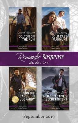 Romantic Suspense Box Set 1-4/Colton on the Run/Cold Case Manhunt/Colton 911 by Carla Cassidy from HarperCollins Publishers Australia Pty Ltd in Romance category
