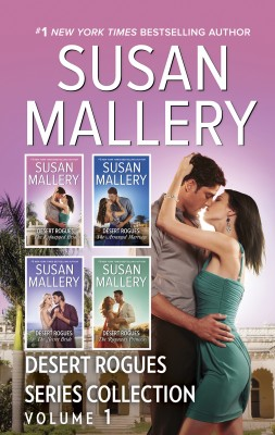 Desert Rogues Series Collection Volume 1/The Kidnapped Bride/The Arranged Marriage/The Secret Bride/The Runaway Princess by Susan Mallery from HarperCollins Publishers Australia Pty Ltd in Romance category
