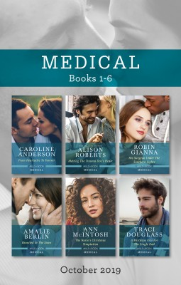 From Heartache to Forever/Melting the Trauma Doc's Heart/His Surgeon Under the Southern Lights/Reunited in the Snow/The Nurse's Christmas Te by Traci Douglass from HarperCollins Publishers Australia Pty Ltd in Family & Health category