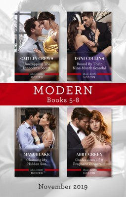 Unwrapping the Innocent's Secret/Bound by Their Nine-Month Scandal/Claiming My Hidden Son/Confessions of a Pregnant Cinderella by CAITLIN CREWS from HarperCollins Publishers Australia Pty Ltd in Romance category