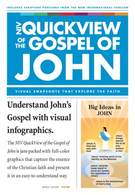 NIV, QuickView of the  Gospel of John, eBook by Christopher D. Hudson from HarperCollins Christian Publishing in Christianity category