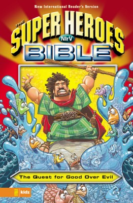 NIrV, The Super Heroes Bible, eBook by Zondervan from HarperCollins Christian Publishing in Christianity category