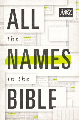 All the Names in the Bible by Thomas Nelson from HarperCollins Christian Publishing in Religion category
