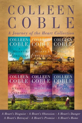 Journey of the Heart Collection by Colleen Coble from HarperCollins Christian Publishing in General Novel category
