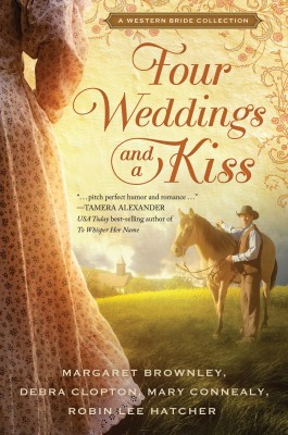 Four Weddings and a Kiss by Debra Clopton from HarperCollins Christian Publishing in General Novel category