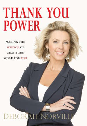 Thank You Power Deborah Norville Harpercollins Christian