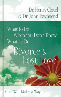 What to Do When You Don't Know What to Do: Divorce and   Lost Love by John Townsend from HarperCollins Christian Publishing in Religion category