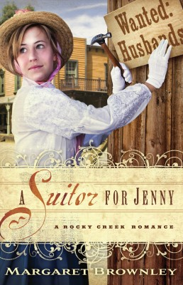 Suitor for Jenny by Margaret Brownley from HarperCollins Christian Publishing in General Novel category