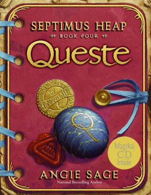 Septimus Heap, Book Four: Queste by Angie Sage from HarperCollins Publishers LLC (US) in Teen Novel category