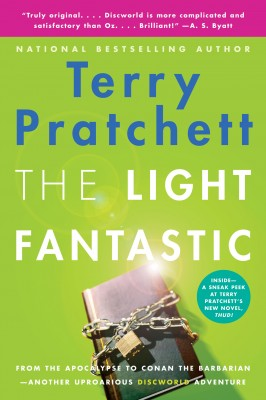 The Light Fantastic by Terry Pratchett from HarperCollins Publishers LLC (US) in General Novel category