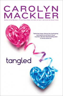 Tangled by Carolyn Mackler from  in  category