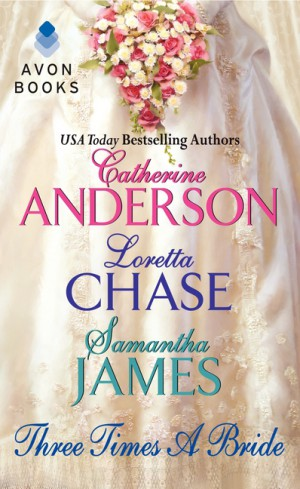 Three Times a Bride by Samantha James from  in  category