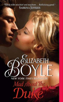 Mad About the Duke by Elizabeth Boyle from HarperCollins Publishers LLC (US) in General Novel category