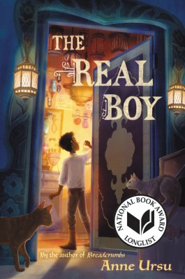 The Real Boy by Anne Ursu from HarperCollins Publishers LLC (US) in Teen Novel category