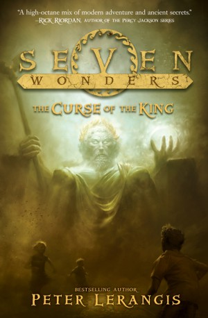 Seven Wonders Book 4: The Curse of the King by Peter Lerangis from HarperCollins Publishers LLC (US) in Teen Novel category