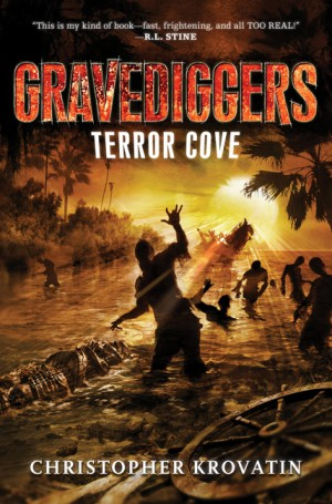 Gravediggers: Terror Cove by Christopher Krovatin from HarperCollins Publishers LLC (US) in Teen Novel category