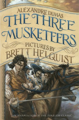 The Three Musketeers: Illustrated Young Readers' Edition by Alexandre Dumas from HarperCollins Publishers LLC (US) in Teen Novel category