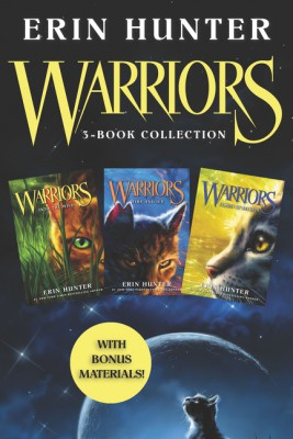 Warriors 3-Book Collection with Bonus Material by Erin Hunter from HarperCollins Publishers LLC (US) in Teen Novel category