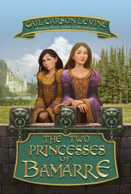 The Two Princesses of Bamarre by Gail Carson Levine from  in  category