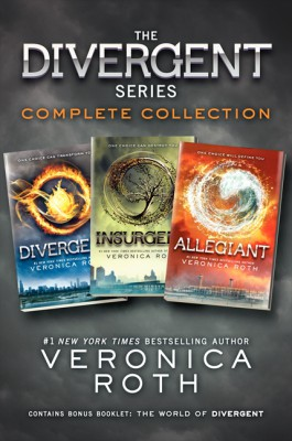 The Divergent Series Complete Collection by Veronica Roth from HarperCollins Publishers LLC (US) in Teen Novel category