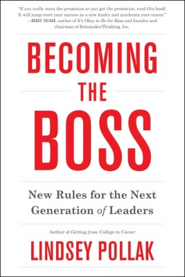 Becoming the Boss by Lindsey Pollak from HarperCollins Publishers LLC (US) in Business & Management category