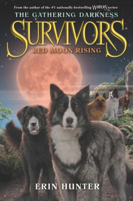 Survivors: The Gathering Darkness #4: Red Moon Rising by Erin Hunter from HarperCollins Publishers LLC (US) in Teen Novel category