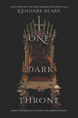 One Dark Throne by Kendare Blake from  in  category