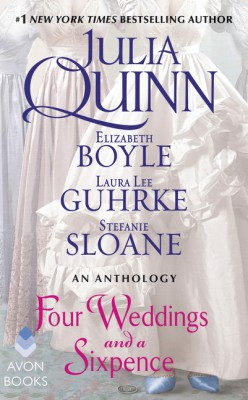 Four Weddings and a Sixpence by Laura Lee Guhrke from  in  category