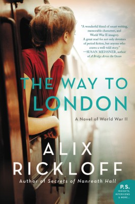 The Way to London by Alix Rickloff from HarperCollins Publishers LLC (US) in General Novel category