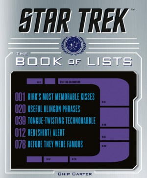 Star Trek: The Book of Lists by Chip Carter from HarperCollins Publishers LLC (US) in Art & Graphics category