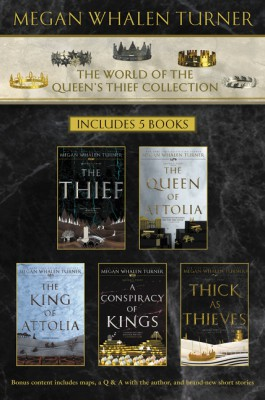 World of the Queen's Thief Collection by Megan Whalen Turner from HarperCollins Publishers LLC (US) in General Novel category