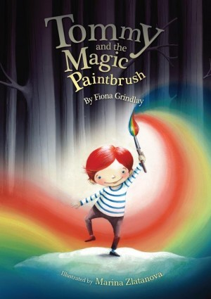 Tommy and the magic paintbrush by Fiona Grindlay from Inspiring Publishers in Children category