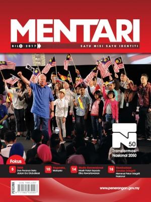 MENTARI Bil 1 2017 by Bahagian Penerbitan Dasar Negara from Jabatan Penerangan Malaysia in General Academics category