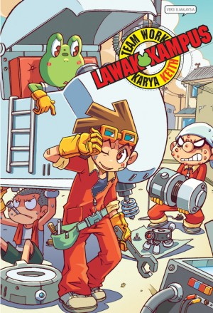 Lawak Kampus 06 by Keith from KADOKAWA GEMPAK STARZ SDN BHD in Comics category