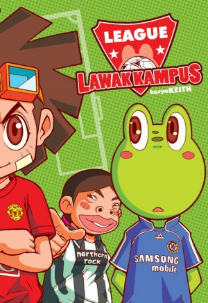 Lawak Kampus 04 by Keith from KADOKAWA GEMPAK STARZ SDN BHD in Comics category