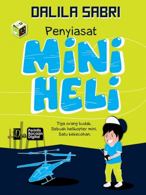 Penyiasat Mini Heli by Dalila Sabri from KarnaDya Solutions Sdn Bhd in Teen Novel category