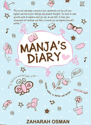 Manja's Dairy by Zaharah Osman from K PUBLISHING SDN BHD in General Novel category