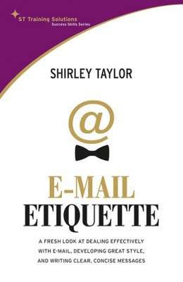 STTS-The Email Etiquette by Shirley Taylor from Marshall Cavendish International (Asia) Pte Ltd in Motivation category