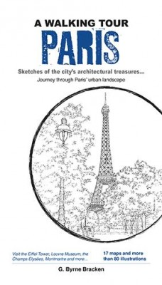 A Walking Tour Paris by Gregory Bryne Bracken from Marshall Cavendish International (Asia) Pte Ltd in Travel category