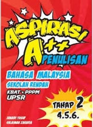 Aspirasi A++: Penulisan Tahap 2 (UPSR) by Junaidi Yusof & Sulaiman Zakaria from Prestasi Publication Enterprise in School Exercise category