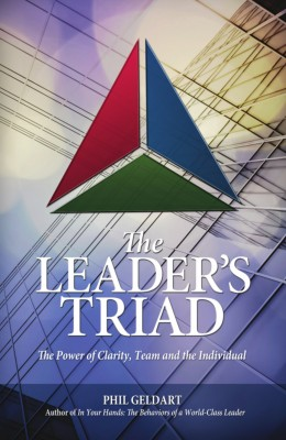 The Leader's Triad: The Power of Clarity, Team and the Individual by Phil Geldart from Mint Associates Ltd in Accounting & Statistics category