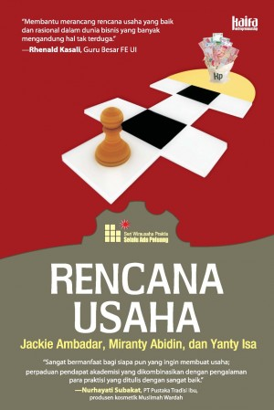 Rencana Usaha by Jacky Ambadar, Miranty Abidin dan Yanty Isa from Mizan Publika, PT in General Novel category