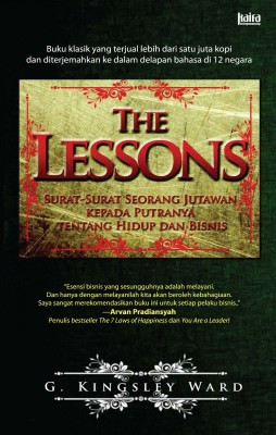 The Lessons by G. Kingsley Ward from Mizan Publika, PT in General Novel category
