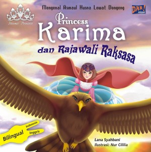 Princess Karima dan Rajawali Raksasa by Lana Syahbani from Mizan Publika, PT in General Novel category