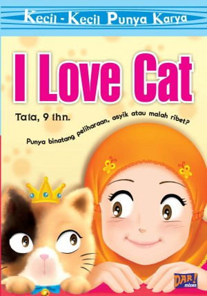 KKPK: I Love Cat by Tata from Mizan Publika, PT in General Novel category